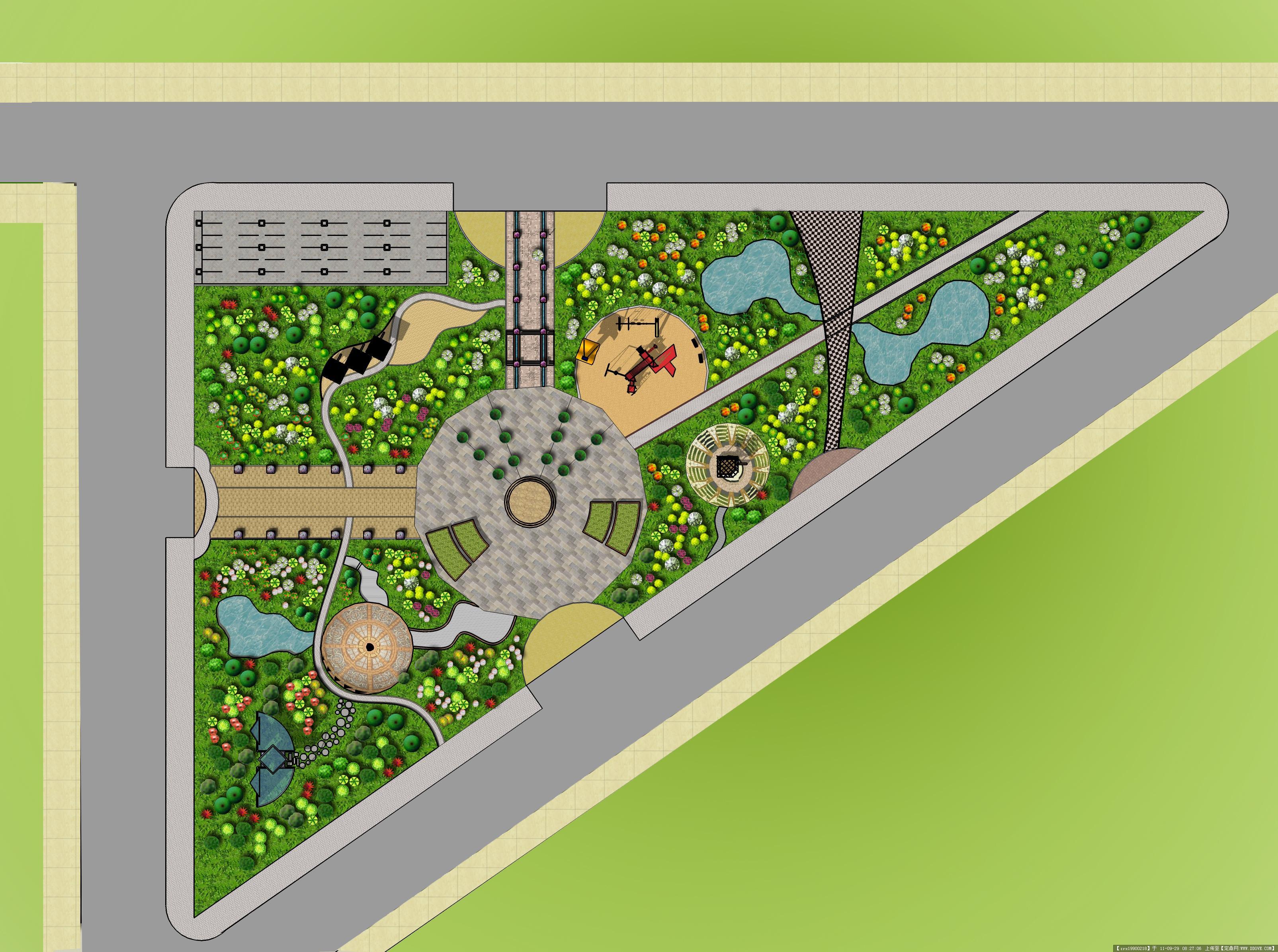 某广场设计方案图纸
